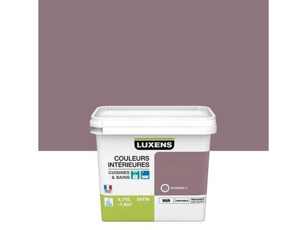 Peinture Couleurs Intérieures Luxens, Bohémia 4, 0.75 L