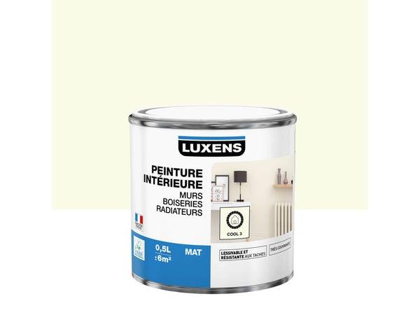 Peinture Mur, Boiserie, Radiateur Multisupports Luxens Cool 3 Mat 0.5 L