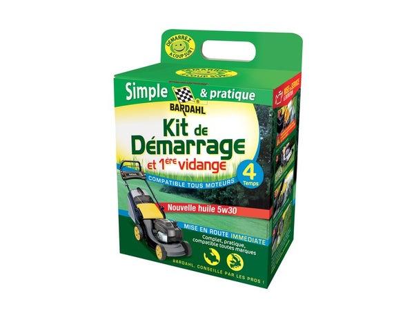 Kit De Démarrage Et Première Vidange Tondeuse 4 Temps Bardahl 5W30
