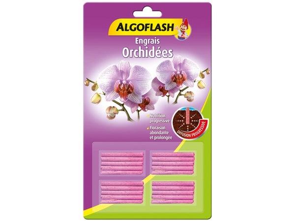 Engrais Orchidées Algoflash 20 Batonnets