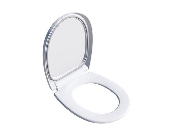 Abattant Frein De Chute Déclipsable Blanc Click & Clean Silence