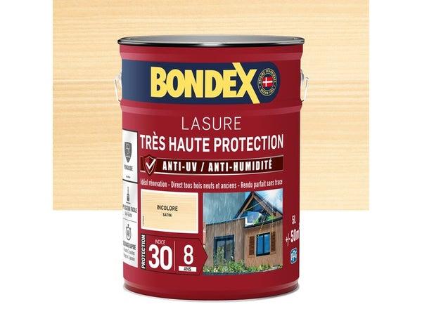 Lasure Bondex Très Haute Protection 8 Ans Satiné 5 L