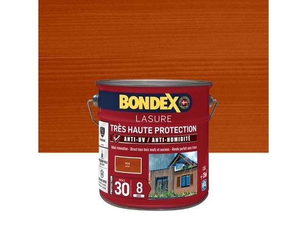 Lasure Bondex Tres Haute Protection 8 Ans 8 Ans Satiné 2.5 L