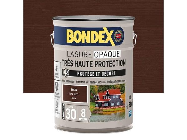 Lasure Bondex Tres Haute Protection 8 Ans 8 Ans Satiné 5 L