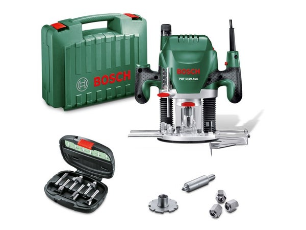 Défonceuse Electrique Bosch Pof 1400 Ace, 1400 W
